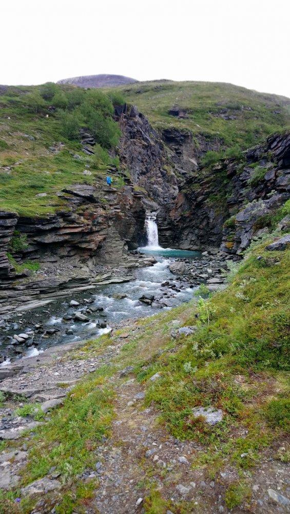 Cascata a monte della valle di Vistas.JPG