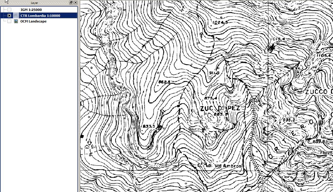 Cartina Igm Piemonte.Cartografia Igm E Non Solo Su Pc Avventurosamente