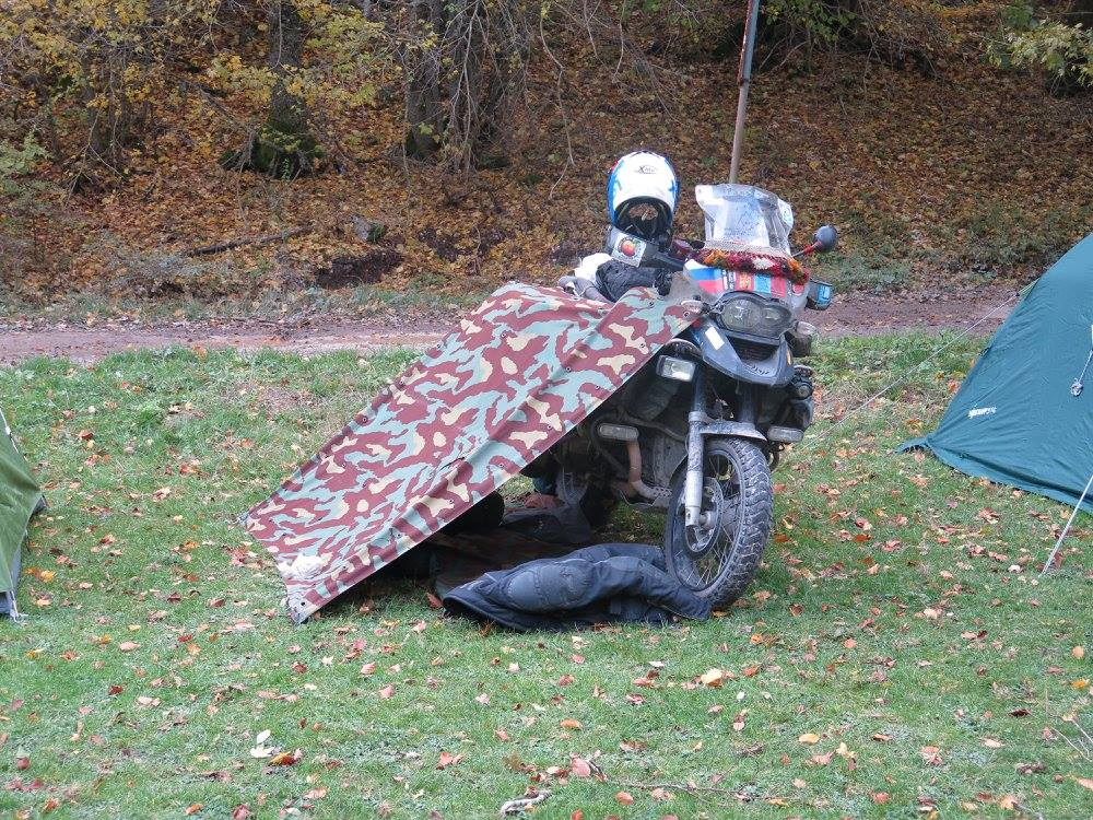 Raduni in moto ovviamente in tenda!! Page 3